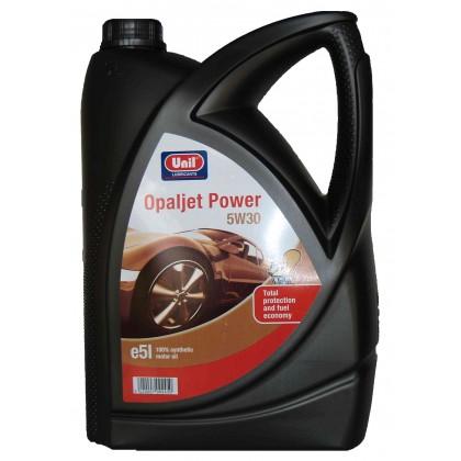 100% синтетично моторно масло OPALJET POWER 5W30 - 5L