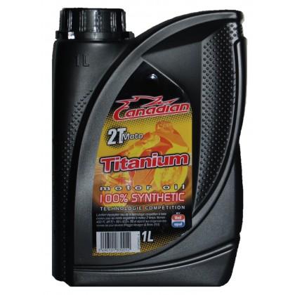 Двутактово масло за мотоциклети TITANIUM 2T MOTO - 1L